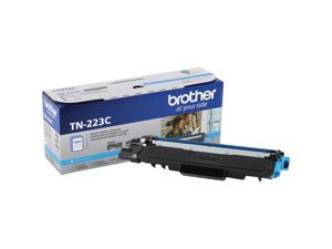 Brother International - TN223C - Brother Genuine TN-223C Standard Yield Cyan Toner Cartridge - Laser - Standard Yield -
