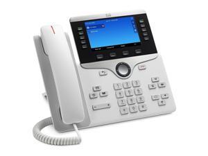 Cisco IP Phone 8841 White / Manufacturer Part Number: CP-8841-W-K9= / 2 year warranty