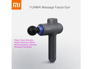 Original Xiaomi Smart Yunmai Massage Fascia Gun Xiomi Wireless Handheld Relax Muscle For Sport 3 Archives 4 Head Science Massage