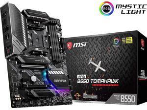 [OB-NA] MSI MAG B550 Tomahawk Gaming Motherboard (AMD AM4, DDR4, PCIe 4.0, SATA