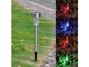 6pc Solar Powered Color Changing LED Light Pathway Landscape Garden Outdoor