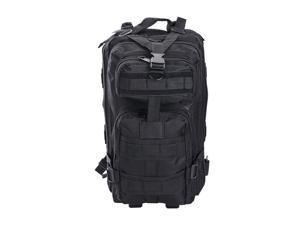 28L Hiking Camping Outdoor Sport Backpack 600D Oxford Travel Military Bag Black