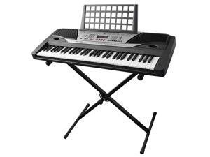 Electronic Piano Beginner Keyboard 61 Key Music Key Board Piano With X Stand