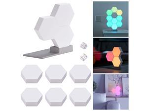LifeSmart WiFi Smart LED Light Kit Splicing 9 Block Base 16 Million Color Work w/ Alexa Google Decor
