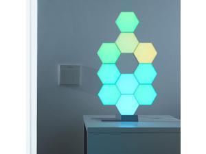 LifeSmart WiFi Smart LED Light Kit Splicing 10 Block Base 16 Million Color Work with Alexa Google