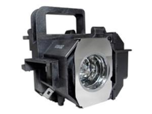Epson Powerlite Home Cinema 8350  OEM Replacement Projector Lamp . Includes New Ushio UHE 200W Bulb and Housing