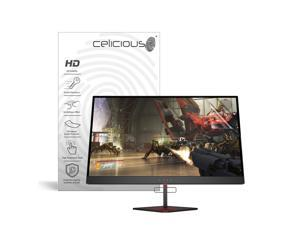 Celicious Vivid HP Omen X 27 Gaming Monitor 6FN07AA Invisible Screen Protector [Pack of 2]