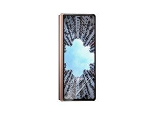 Celicious Matte Flex Samsung Galaxy Z Fold 2 (Front Screen) Anti-Glare 3D Screen Protector [Pack of 3]
