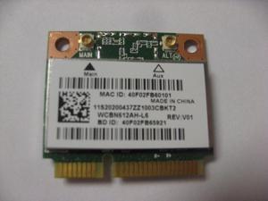 Card for Atheros QCWB335 AR956X Wireless LAN Card Wifi + BT4.0 Half PCI-E 2.4GHz 802.11b/g/n for Lenovo IdeaPad