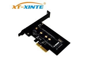 PCI-Express PCI-E 3.0 X4 to M.2 NGFF M Key Slot Converter Adapter Card M2 Nvme PCIE SSD Riser Card for Desktop 2280 2230 2242