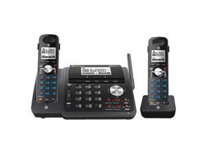 AT&T TL88102BK + (1) TL88002BK Dect 6.0 2-Line Cordless Phone System