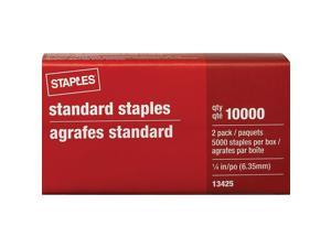 Standard Staples 5 000/Box x 2 PK 10 000 Count (13425-US) 648695