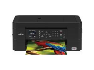 Brother MFC-J497DW Wireless Color Inkjet All-in-One Printer with Duplex Printing