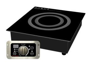 1800W Commercial Induction Range (Built-In)