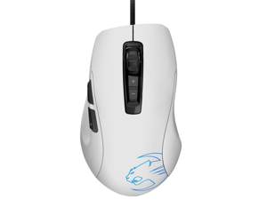 ROCCAT Kone Pure Optical 7 Buttons 1 x Wheel USB Wired 5000 dpi Core Performance Gaming Mouse - Phantom White