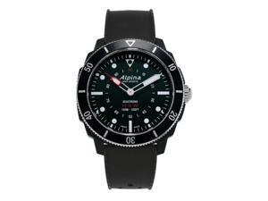 Alpina Men's AL-282LBB4V6 Horological Smartwatch, Black