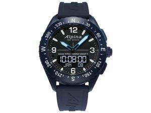 Alpina AlpinerX AL-283LBN5NAQ6 Smartwatch, Blue