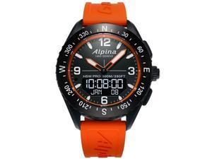 Alpina AL-283LBO5AQ6 Smart Watch, Black