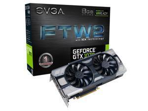 EVGA GeForce GTX 1070 FTW2 Gaming Video Card 8GB GDDR5