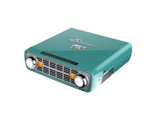 ION BRONCO-TEAL 4-IN-1 RETRO MUSIC CENTER IN TEAL