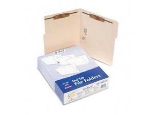 Pendaflex Folders with Two Bonded Fasteners 1/3 Cut Top Tab Letter Manila 50/Box