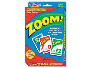 Trend T76304 Zoom Math Card Game  Ages 9 and Up