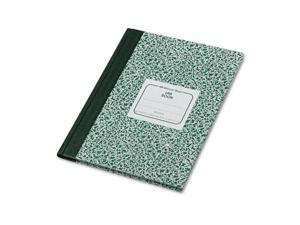 """Rediform 53010 Center Sewn Lab Notebook 96 Sheet - Wide Ruled - 7.13"""" x 10.13"""" - 1 Each - White Paper"""