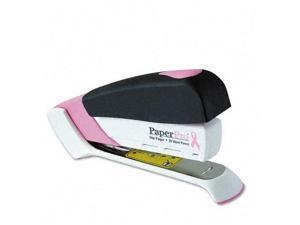 inCOURAGE 20 Desktop Stapler 20-Sheet Capacity Pink/White