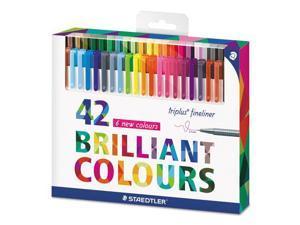 Staedtler Pen,Colored,Sprfn Pt,42st 334C42
