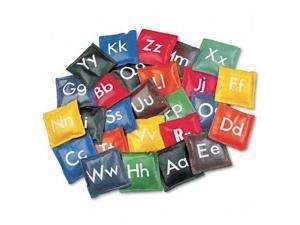 Champion Sports Alphabet Bean Bag Set Vinyl Assorted Colors 26/Set AB55