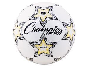 EChampion SportsE Viper ESoccer BallE VIPER3