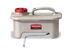 Rubbermaid Q96600 Pulse Caddy  2 Gallons  8-3/4 w x 10-3/4 h x 14-1/8 l  Each