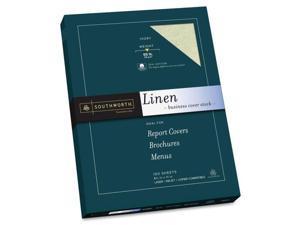 Southworth Company SOUZ560CK Fine Linen Paper- 65lb- Acid-free-Lignin- Ivory