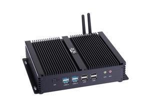 Industrial PC Windows/Linux Intel I3 4005U 2 Intel Nics 2 HDMI 6 COM 8G RAM 240G SSD I4