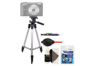 Tall Tripod + Screen Protector + Lens Pen + Dust Blower + 3pc Cleaning Kit