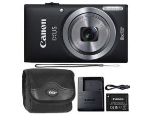 Canon IXUS 185 / ELPH 180 20MP Digital Camera Black with Camera Case