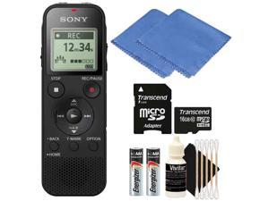 Sony ICD-PX470 Stereo Digital Voice Recorder with 16GB Cleaning Kit