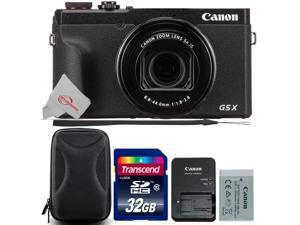 Canon PowerShot G5 X Mark II Digital Camera with 32GB Card and Case