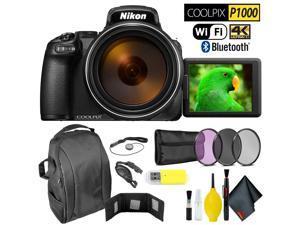 Nikon COOLPIX P1000 Digital Camera Extreme Kit Intl Model
