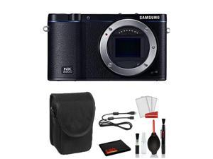 Samsung NX3300 Mirrorless Digital Camera Advanced Bundle  - Case + Cleaning Kit + More