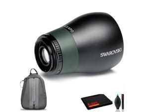 Swarovski TLS APO 30mm Digiscoping Lens for ATS / STS / ATM / STM / STR 80 Spotting Scopes with Cleaning Kit, Backpack Carry Case, and 1-Year Extended Warranty