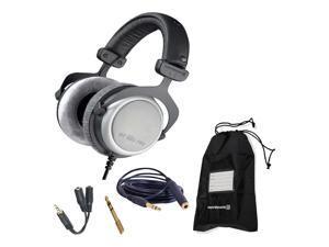 Beyerdynamic DT 880 Pro 250 Ohm Headphones with Splitter and 3-Year Warranty