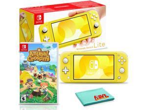 Nintendo Switch Lite (Yellow) Bundle with Animal Crossing: New Horizons