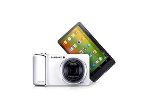 Samsung Galaxy Camera EK-KC120/EKGC100 8GB Android OS, 4.1 Jelly Bean (White) (International Model No Warranty) (International Model)
