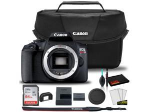 Canon EOS Rebel T7 DSLR Camera +  Canon EOS Bag +  Sandisk Ultra 64GB Card + Cleaning Set And More (Kit Box) No Lens