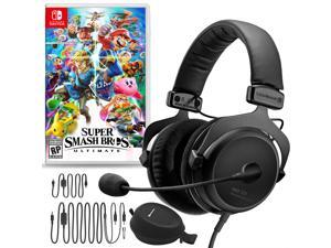 Beyerdynamic MMX 300 Premium Gaming Headset (2nd Gen) Bundle with  Super Smash Bros. Ultimate for Nintendo Switch