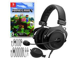Beyerdynamic MMX 300 Premium Gaming Headset (2nd Gen) Bundle with Minecraft for Nintendo Switch