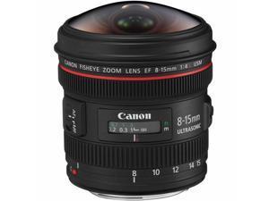 Canon EF 8-15mm f/4L Fisheye USM Ultra-Wide Zoom Lens for Canon EOS SLR Cameras International Version