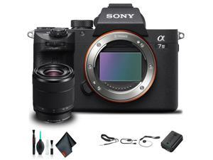Sony Alpha a7 III Mirrorless Camera with 28-70mm Lens ILCE7M3K/B Starter Kit
