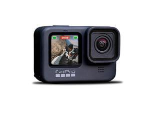New GoPro HERO9 Black - Waterproof Action Camera with Front LCD and Touch Rear Screens, 5K Ultra HD Video, 20MP, 1080p Live Streaming, Webcam